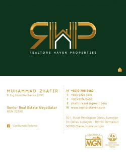 Digital-Namecard-Zhafir-Razak-Realtors-Haven-Properties